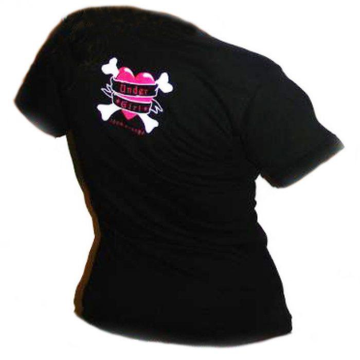 Camiseta Mujer Gato Rock