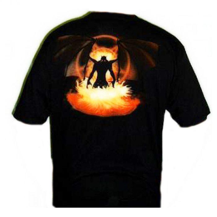 Camiseta Spiral Puertas Del Infierno