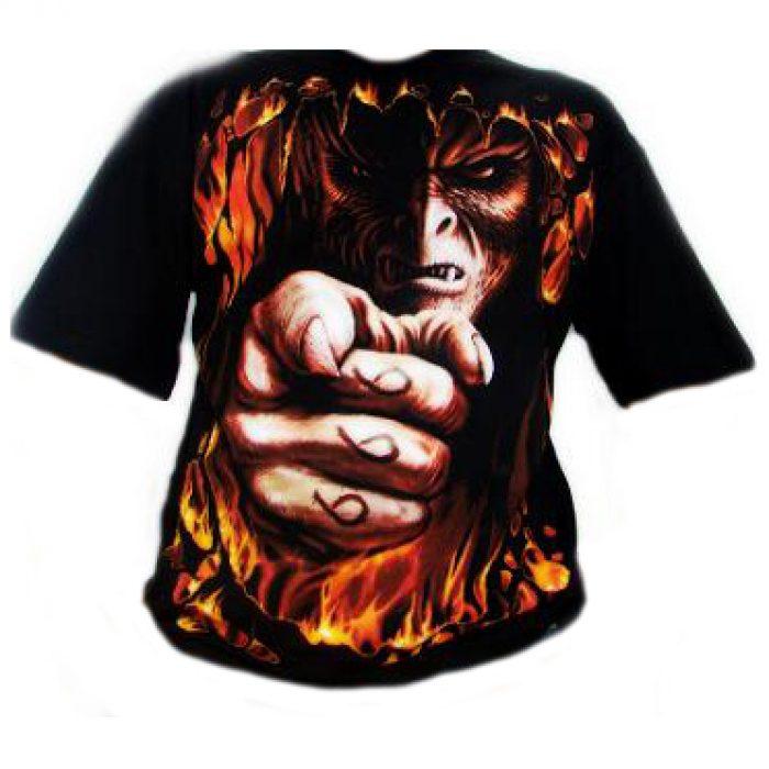 Camiseta Spiral Infierno Te Quiere