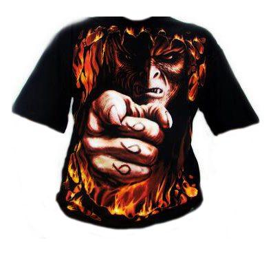 Camiseta Spiral Infierno Te Quiere.