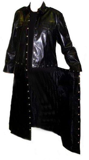 Abrigo Rock desmontable en chaqueta heavy