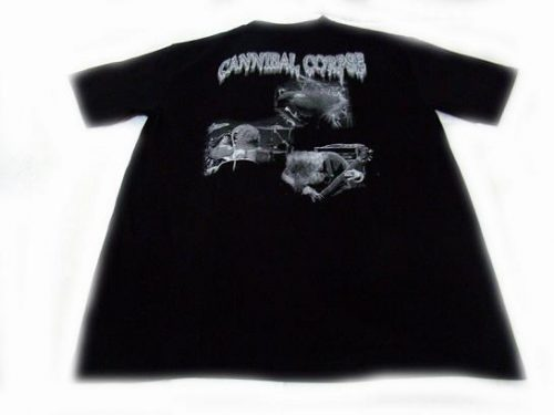camiseta cannibal corpse detras