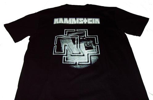 camiseta rammstein detras