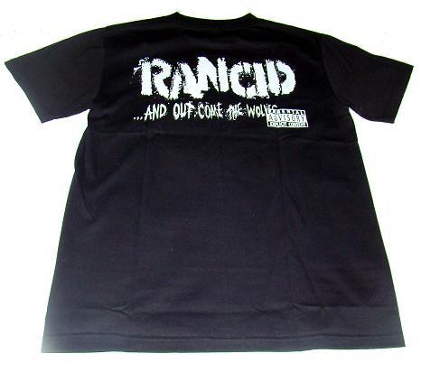 camiseta rancid detras