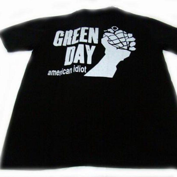 Camiseta Green Day American Idiot