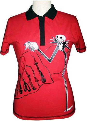 Camiseta Roja Pesadilla Antes Navidad