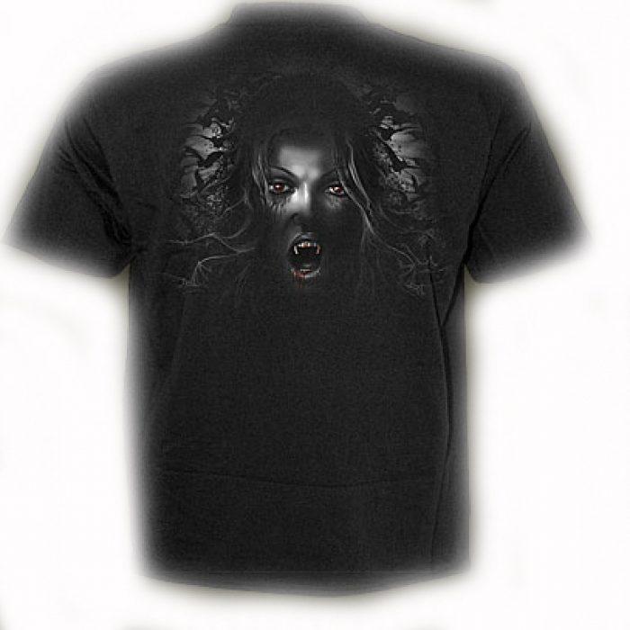 Camiseta Spiral Vampira Ataud