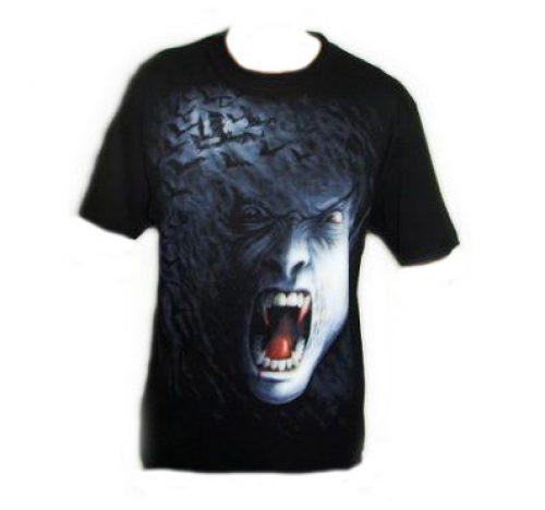 Camiseta Spiral Vampiro Gótico