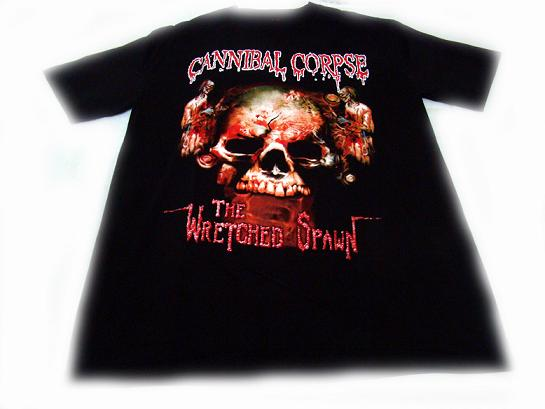 camiseta cannibal corpse