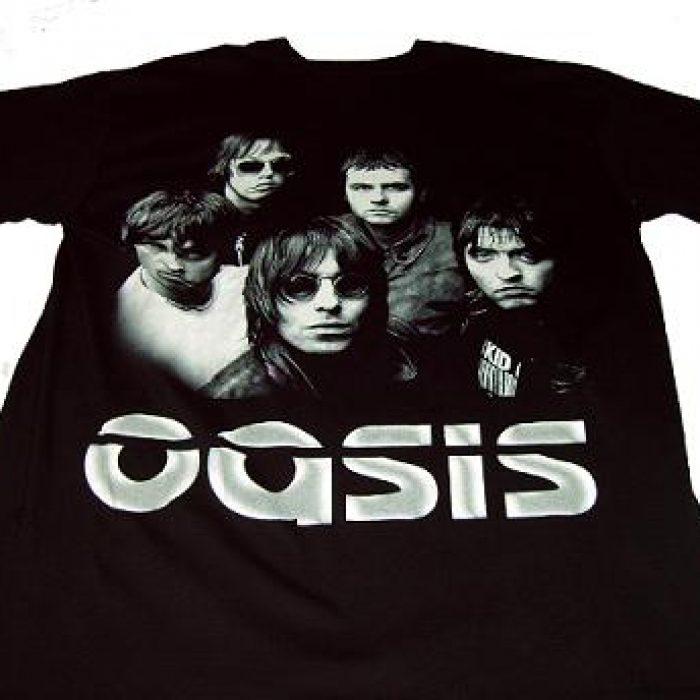 Camiseta Oasis grupo rock