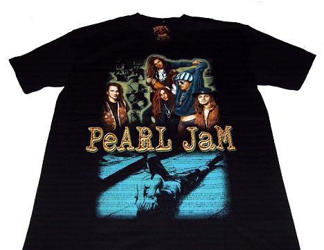 camiseta pearl jam color