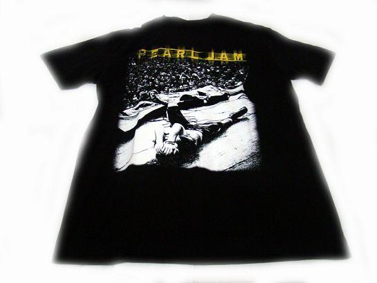 camiseta pearl jam concierto