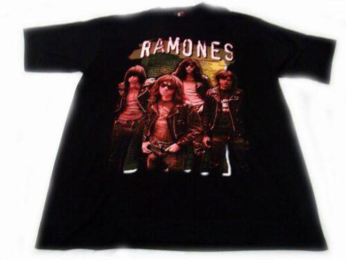 camiseta ramones grupo