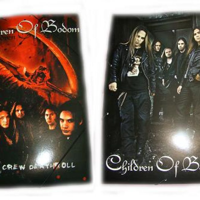 Carpeta Children Of Bodom