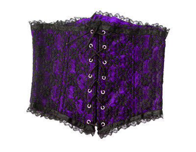Cincher Morado Brocado