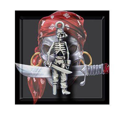 Colgante Esqueleto Pirata