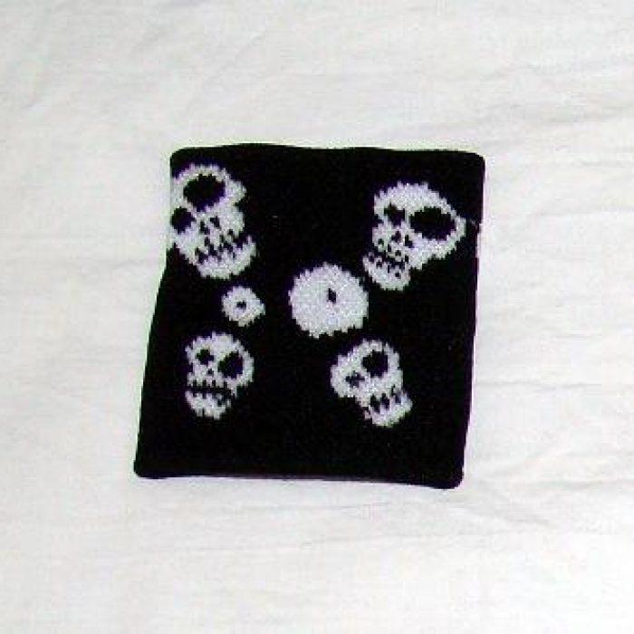 Muñequera Little Skulls