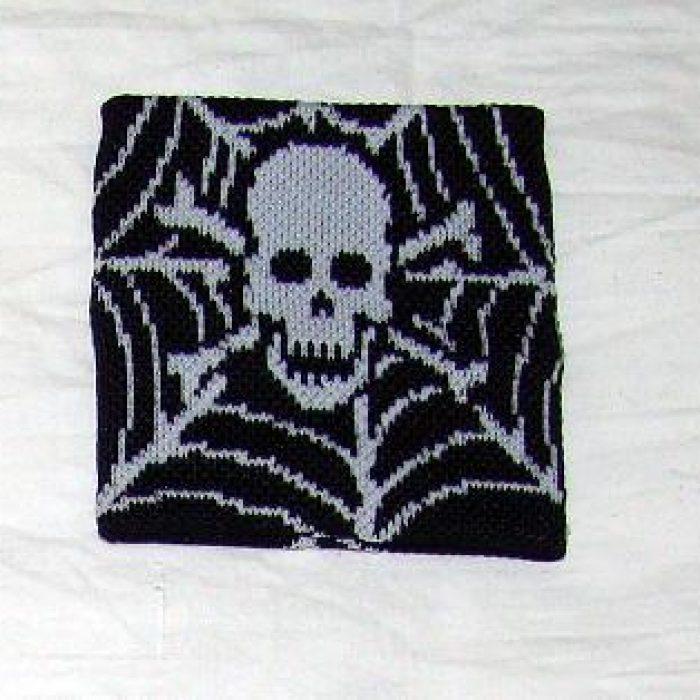 Muñequera Skull & Spiderweb