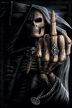 Pósters Spiral Bone Finger