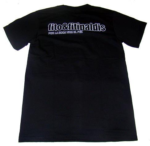 camiseta fito y fitipaldis detras