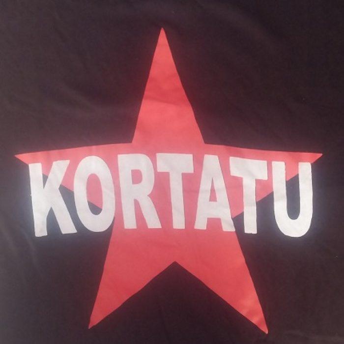 Camiseta Kortatu