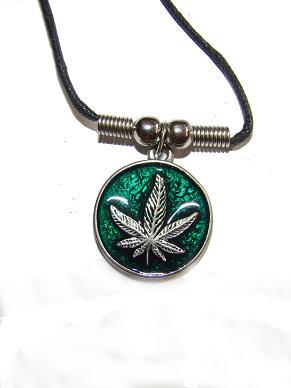 Colgante Marihuana 3