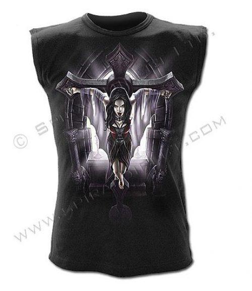 Camiseta Spiral Vampira Cruz
