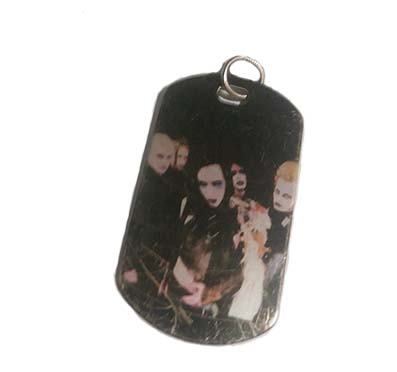 Colgante Placa Marilyn Manson
