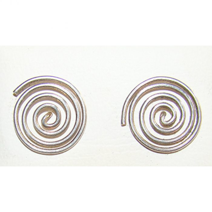 Pendientes Plata Espiral Celta