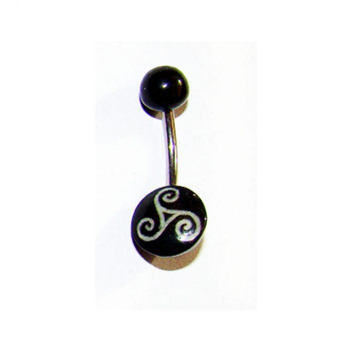 Piercing Triskel Celta