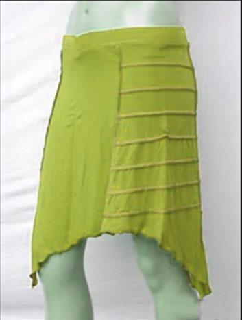 Falda Hada Verde Claro