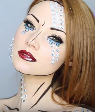 maquillaje-comic