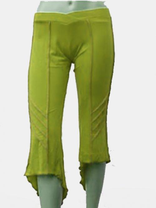 Pantalón Pirata Verde Claro